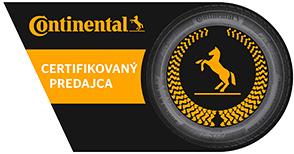 Certifikovaný predajca Continental