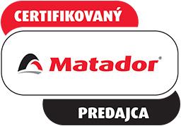 Certifikovaný predajca Matador