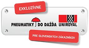 Certifikovaný predajca Uniroyal