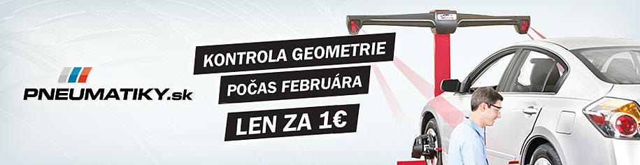 Akciová ponuka - 3D kontrola geometrie za 1 €